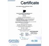 卡特新宝6娱乐用户注册登录治疗仪CE13485证书